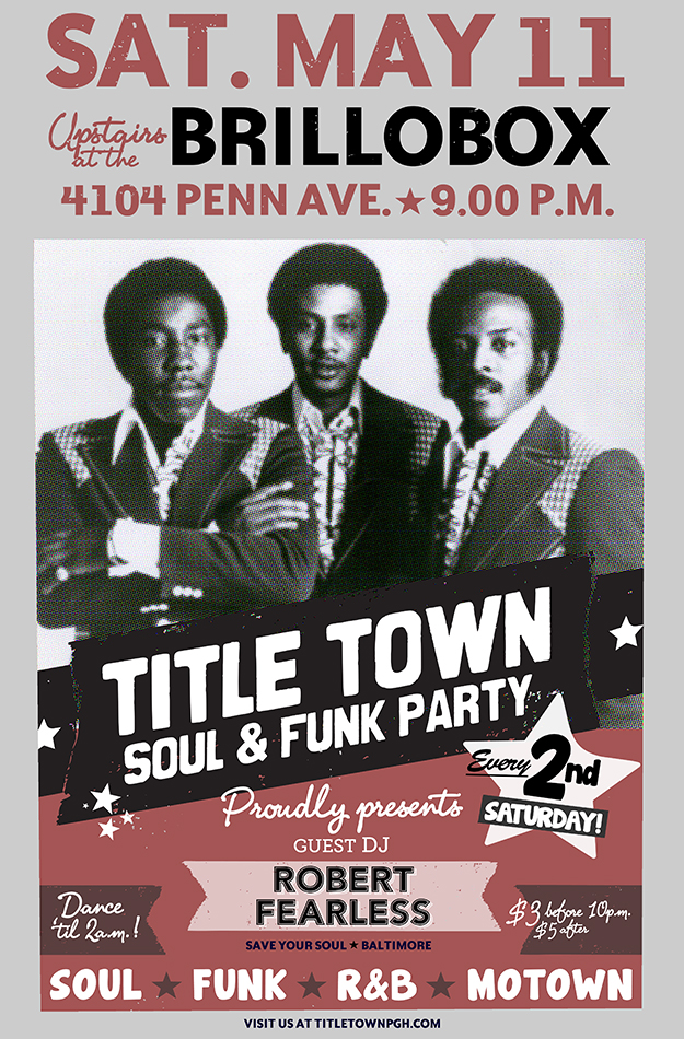 Title Town Soul & Funk Party returns on Saturday, May 11th!