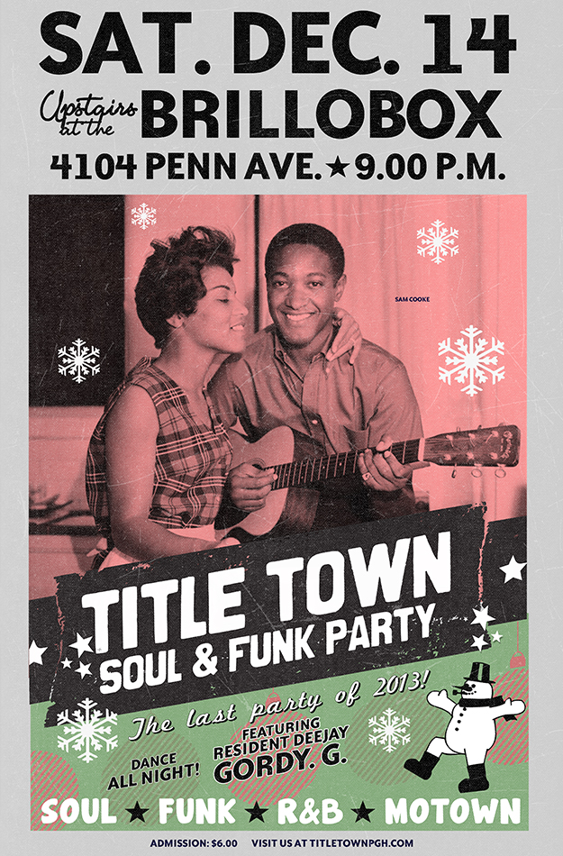 Title Town Soul & Funk Party - December 14, 2013
