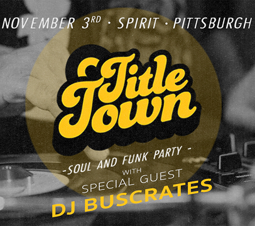 Guest DJ   TITLE TOWN Soul & Funk Party