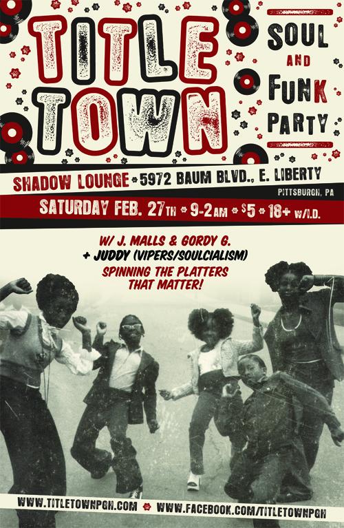 TITLE TOWN Soul & Funk Party
