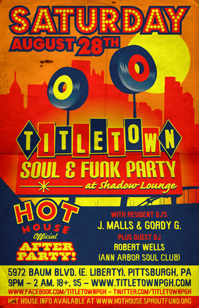 Title Town Soul & Funk Party Official Hothouse Afterparty