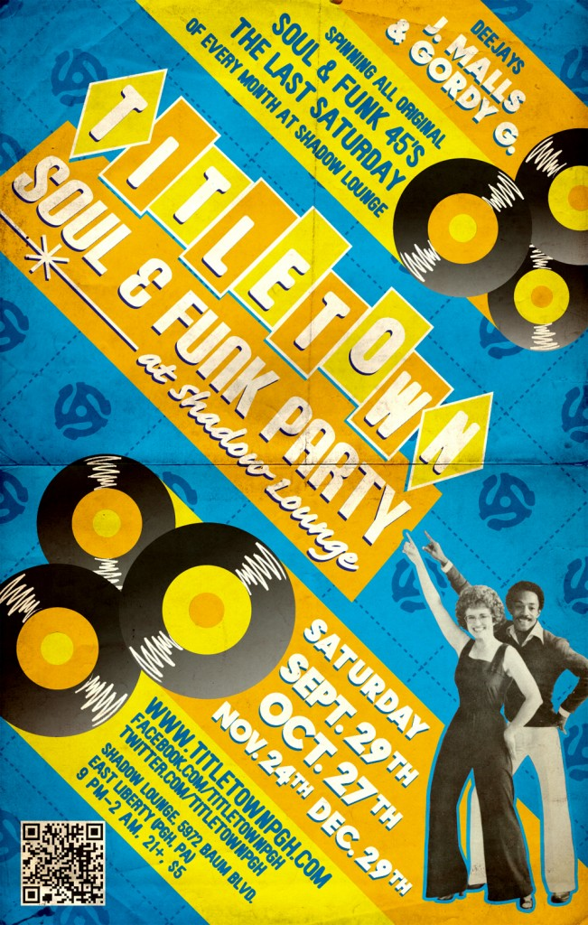 Title Town Soul & Funk Party - September 29th, 2012 at the Shadow Lounge
