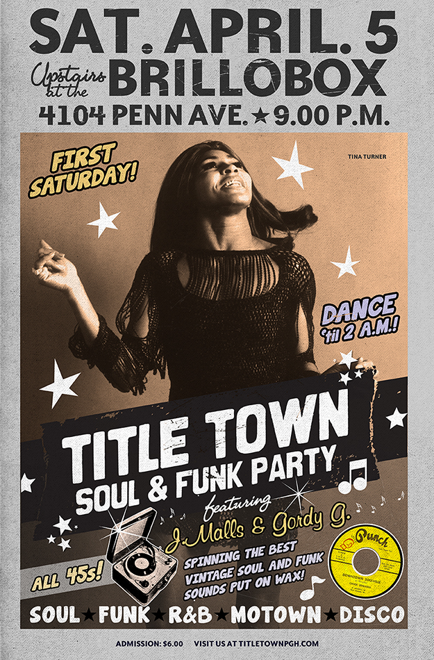 Title Town Soul & Funk Party - April 5th